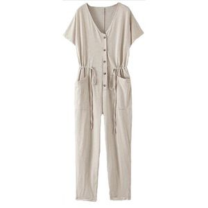 NWT Goodnight Macaroon Jumpsuit with Pockets
